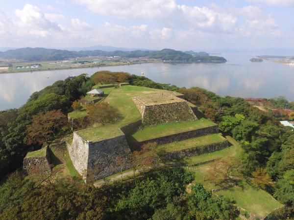 米子城跡 image
