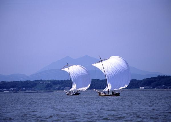 観光帆曳船 image