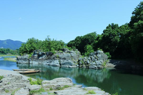 長瀞渓谷 岩畳 image