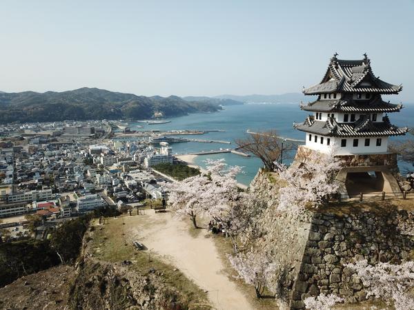 洲本城 image