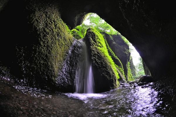 シワガラの滝 image