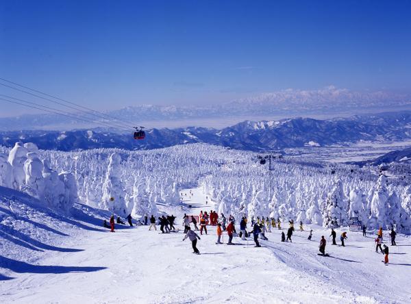 자오 온천 스키장 image