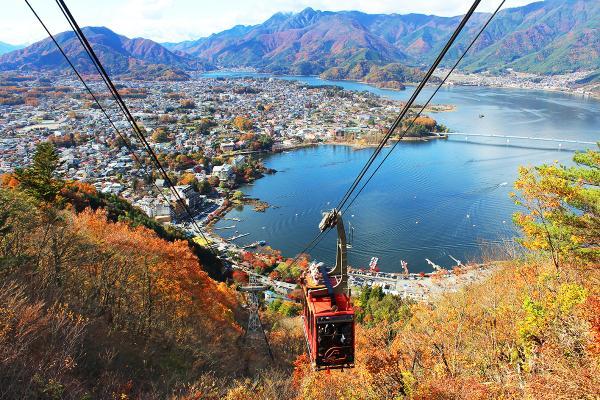 河口湖 富士山パノラマロープウェイ image