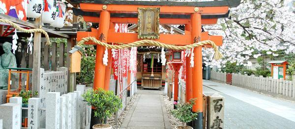 露天神社 お初天神 image