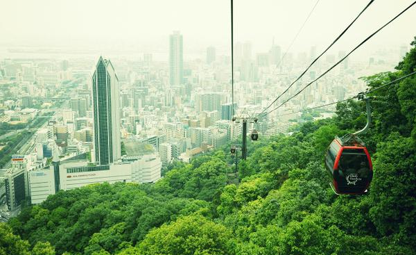 神戸布引ハーブ園/ロープウェイ image
