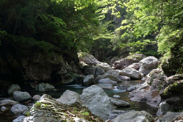 中津渓谷 image