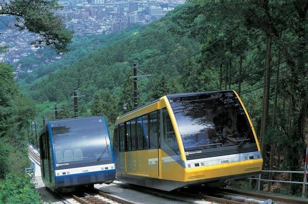 皿倉山ケーブルカー image