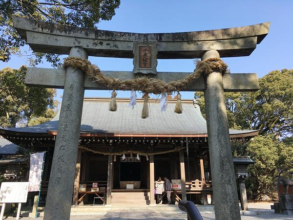 千栗八幡宮 image