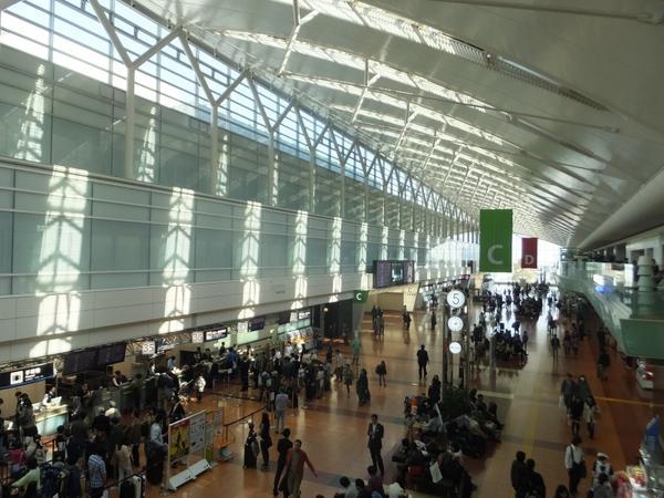 Haneda Airport Domestic Passenger Terminal (Big Bird) image4
