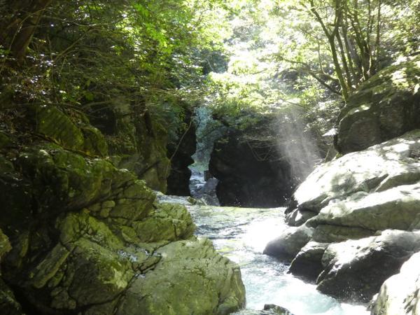 二鹿梅津の滝 image