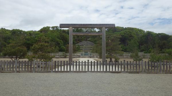 明治天皇伏見桃山陵 image