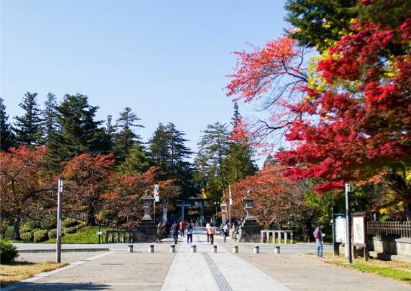 松岬公園(米澤城遺址) image