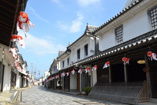 柳井市白壁の町並み image