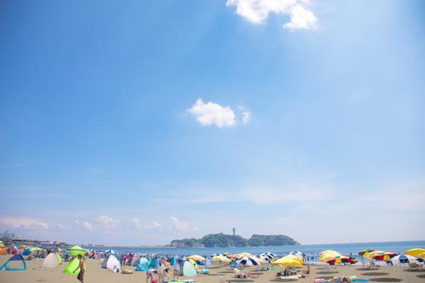 片瀬西浜鵠沼海水浴場 image