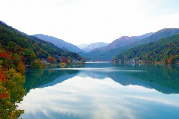 井川湖 image