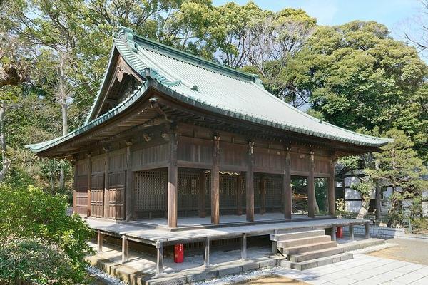 大本山 中山 法華経寺 image