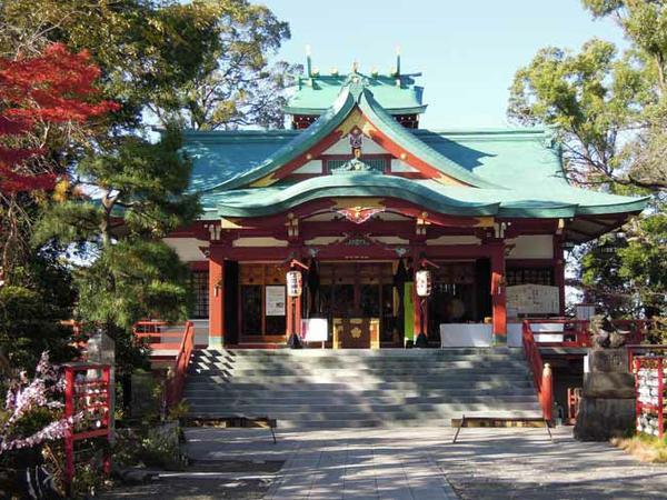 多摩川浅間神社 image