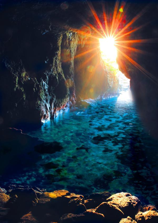 青の洞窟 image