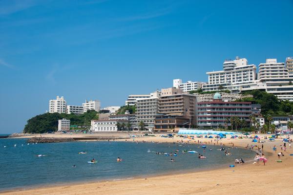 西浦温泉パームビーチ海水浴場 image