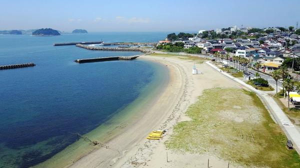 日間賀島東浜海水浴場(サンライズビーチ) image