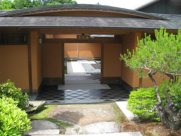 日本庭園 茶室 香流亭 image