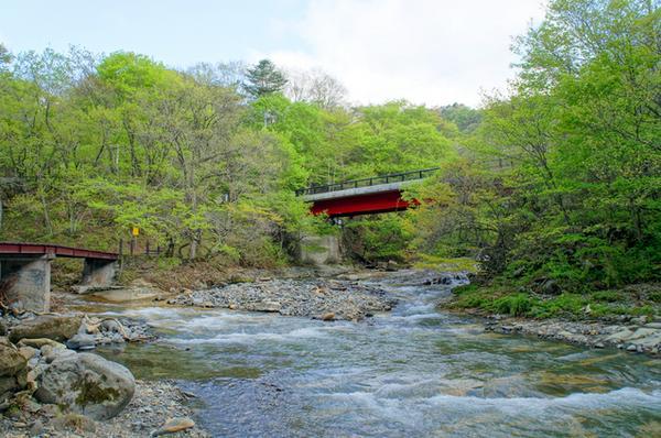 県立自然公園二口峡谷 image
