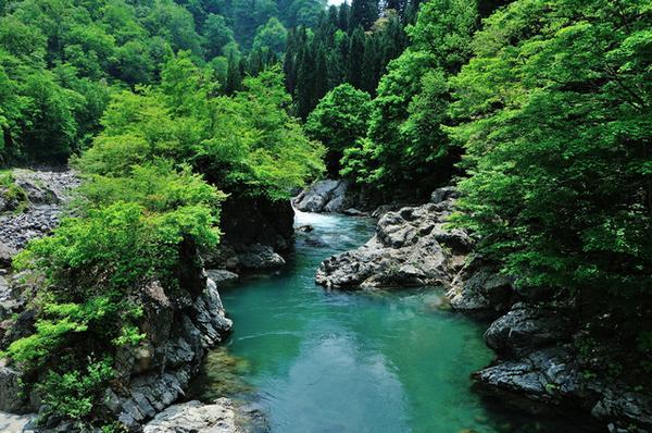 中津川渓谷 image