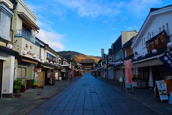 Zenkoji Temple Nakamise Street image
