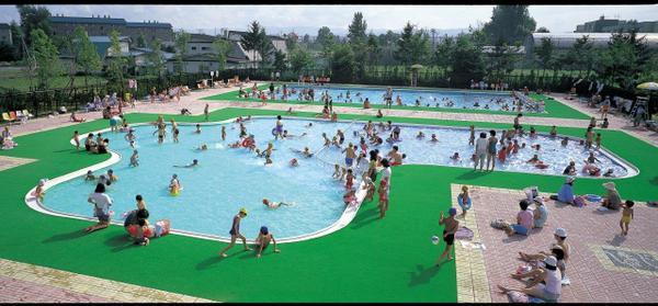 花咲スポーツ公園プール image