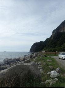 穴間海岸 image