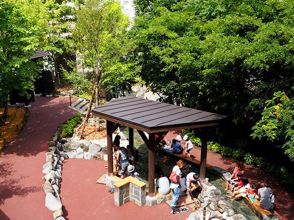 定山源泉公園 image