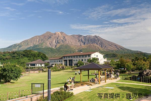 「桜島」溶岩なぎさ公園&足湯 image