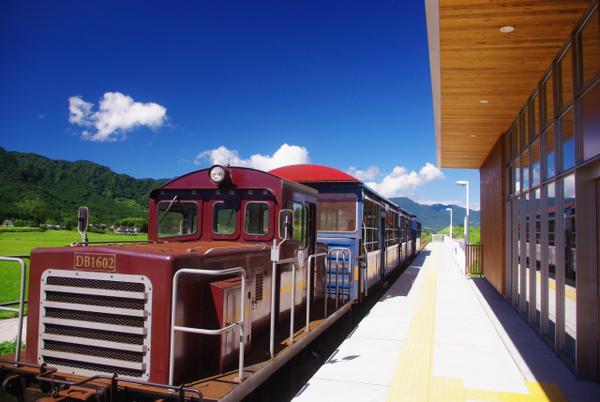 觀光列車「YUSUGE號」 image