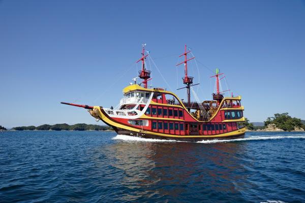 九十九島海賊遊覧船みらい image