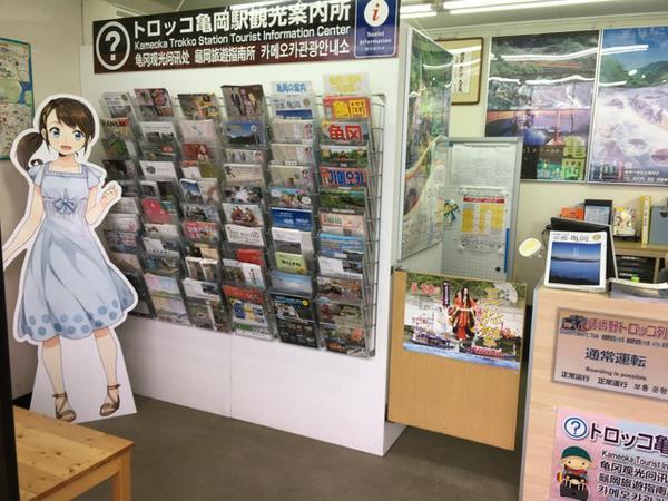 トロッコ亀岡駅観光案内所 image