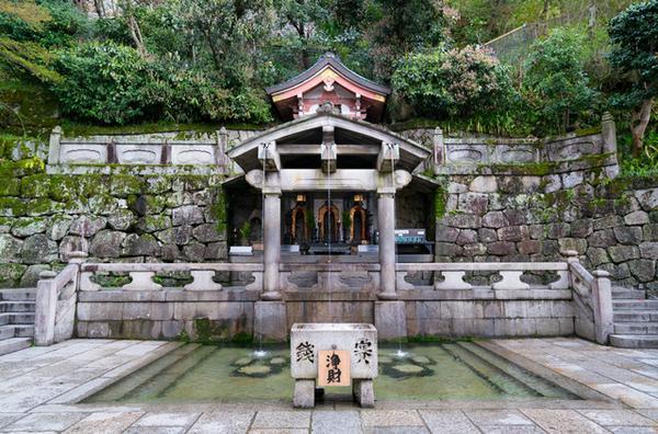 清水寺 音羽の滝 image
