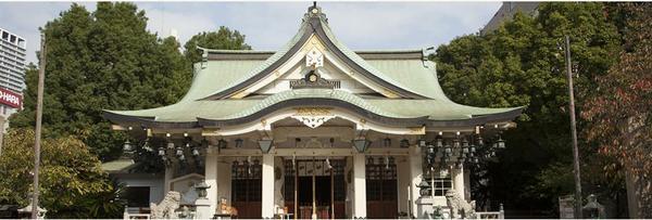 難波八阪神社 image