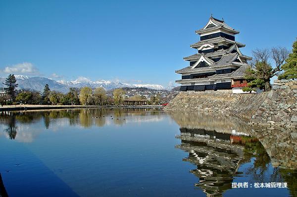 国宝 松本城 image