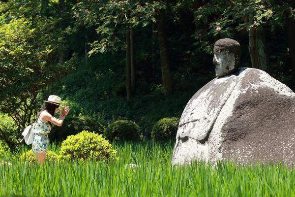 万治の石仏 image