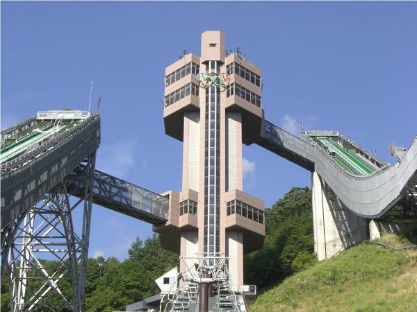 하쿠바 점프경기장 image