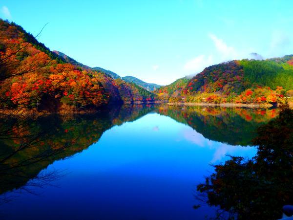 新豊根ダム(みどり湖) image
