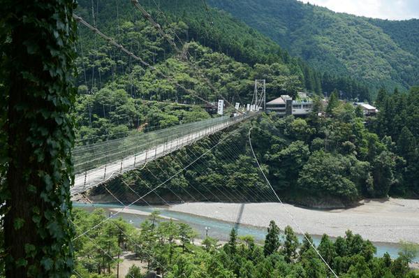 谷瀬の吊り橋 image