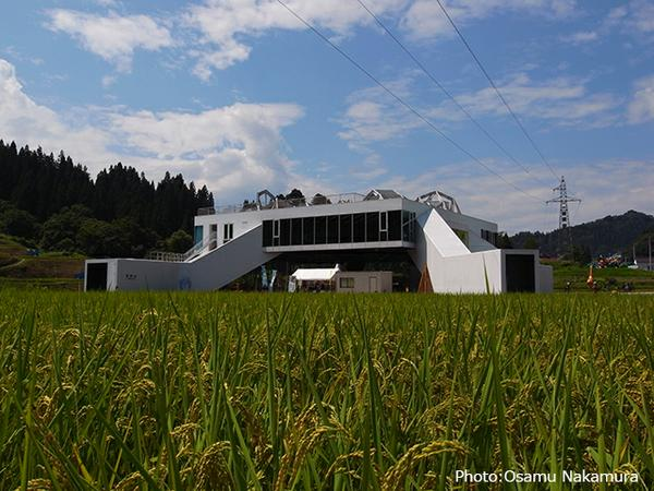 NOU BUTAI (Agrarian Stage) Snow-Land Agrarian Culture Center, Matsudai image