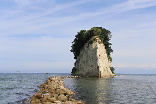 見附島 image