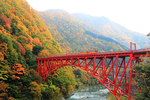 รถไฟโทรกโกะของคุโรเบะ กอร์จ image