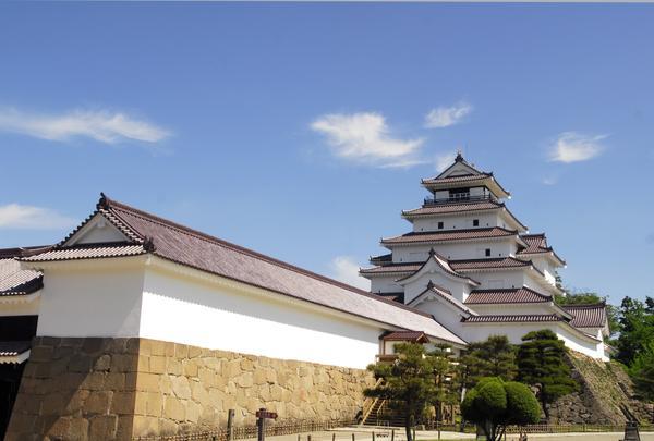 The Castle Tower of Wakamatsu Castle(Tsurugajo Castle)