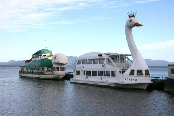 เรือท่องเที่ยวบันได (เรือทัศนาจรทะเลสาบอินะวะชิโระ) image