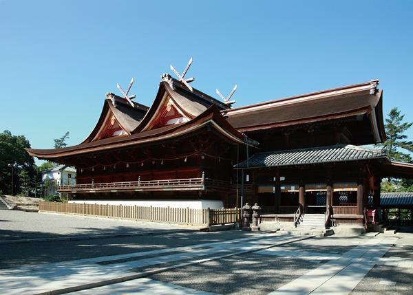 Kibitsu-jinja Shrine