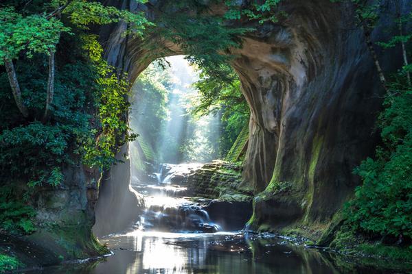 濃溝の滝 image