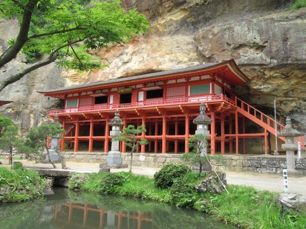 Takkoku no Iwaya Bishamondo Hall (Takkoku Seikoji Temple)